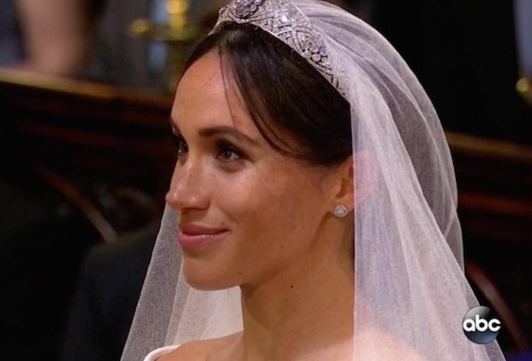 meghan markle wedding day hair