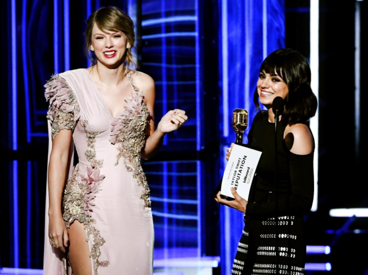 mila kunis taylor swift getty images