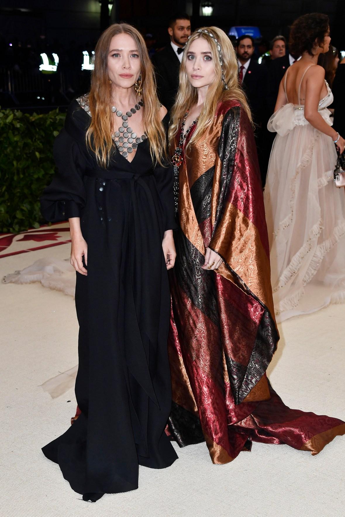 olsen twins 2018 met gala
