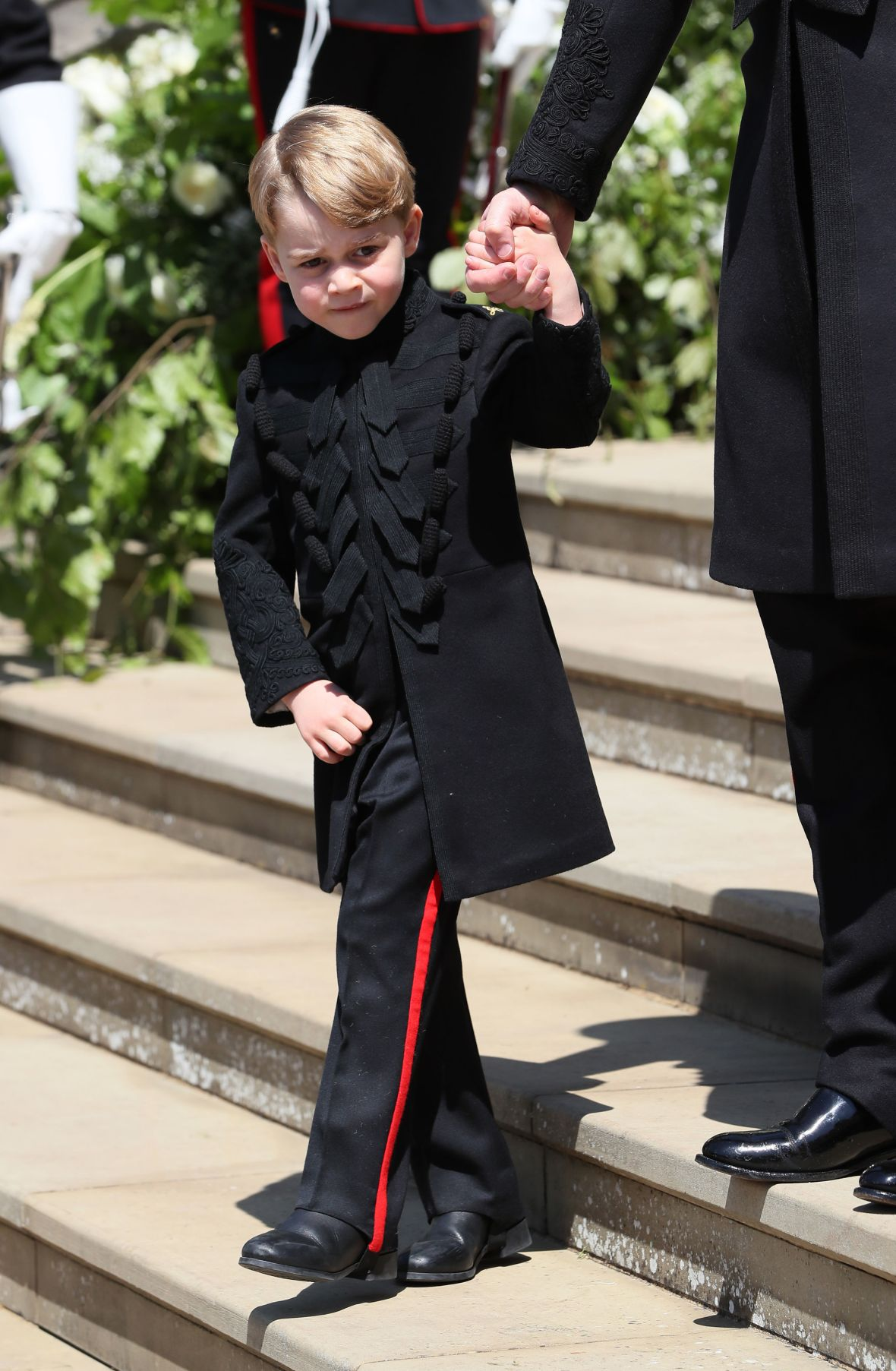 prince george royal wedding getty images