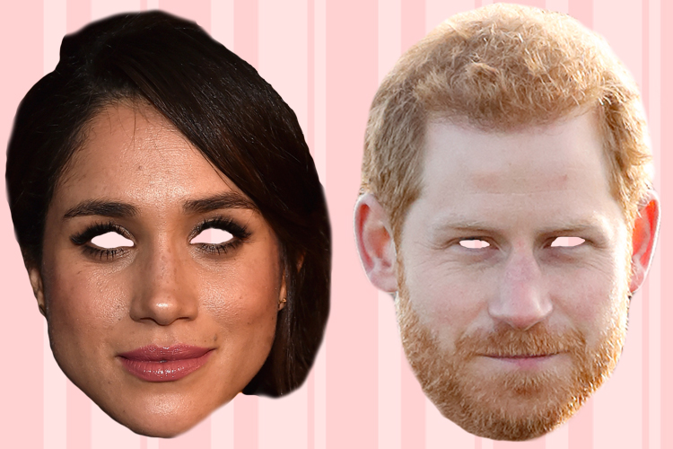 prince harry meghan markle masks