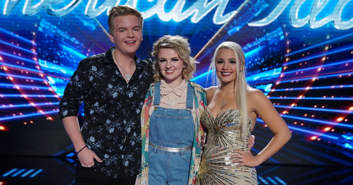 Who is maddie dating on american idol