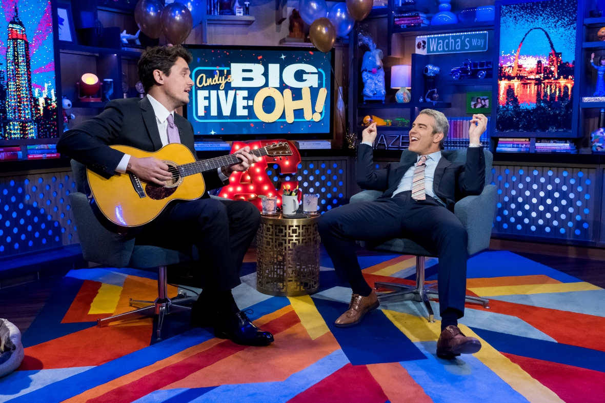 john mayer andy cohen song