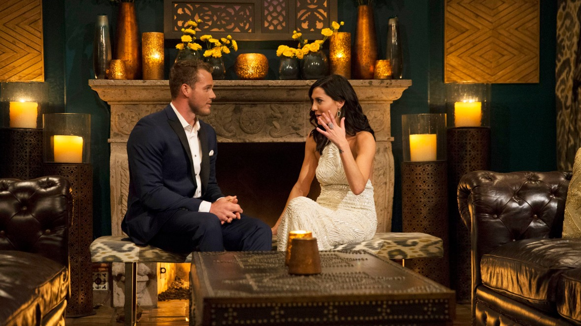 becca kufrin colton underwood getty images