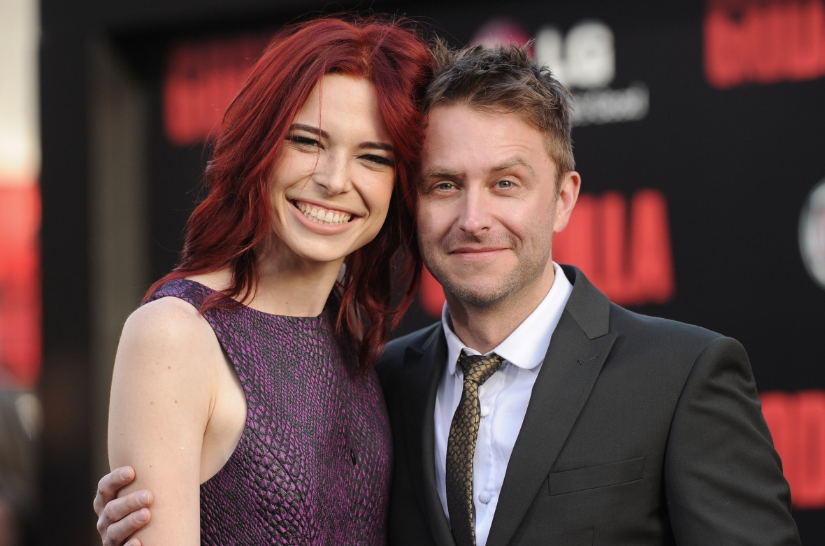chris hardwick chloe dykstra, getty