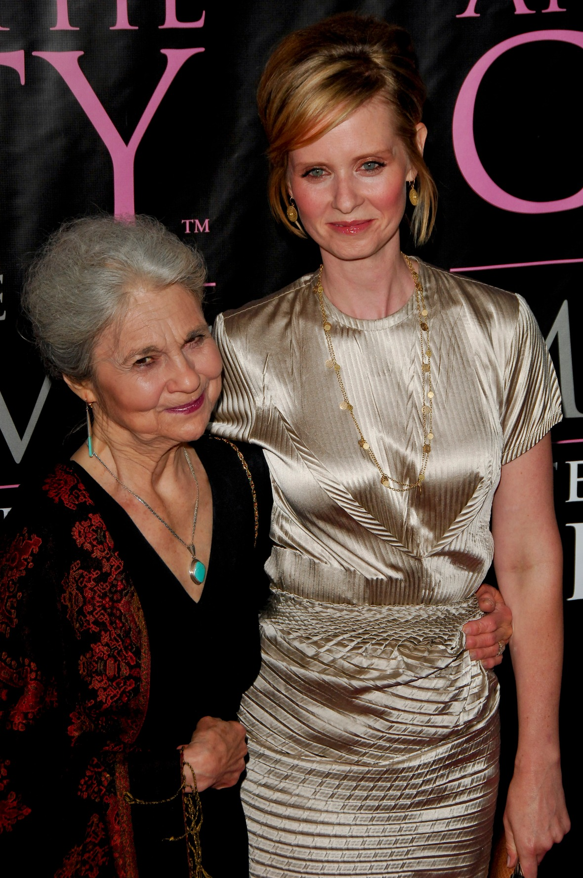 cynthia nixon lynn cohen getty images
