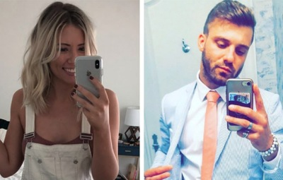 Danielle Maltby And Paulie Calafiore Both Take Mirror Selfies