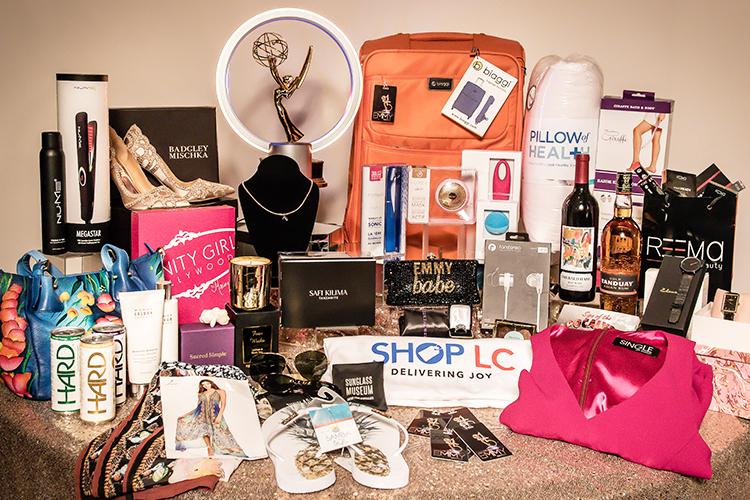 Daytime emmys award show gift bag