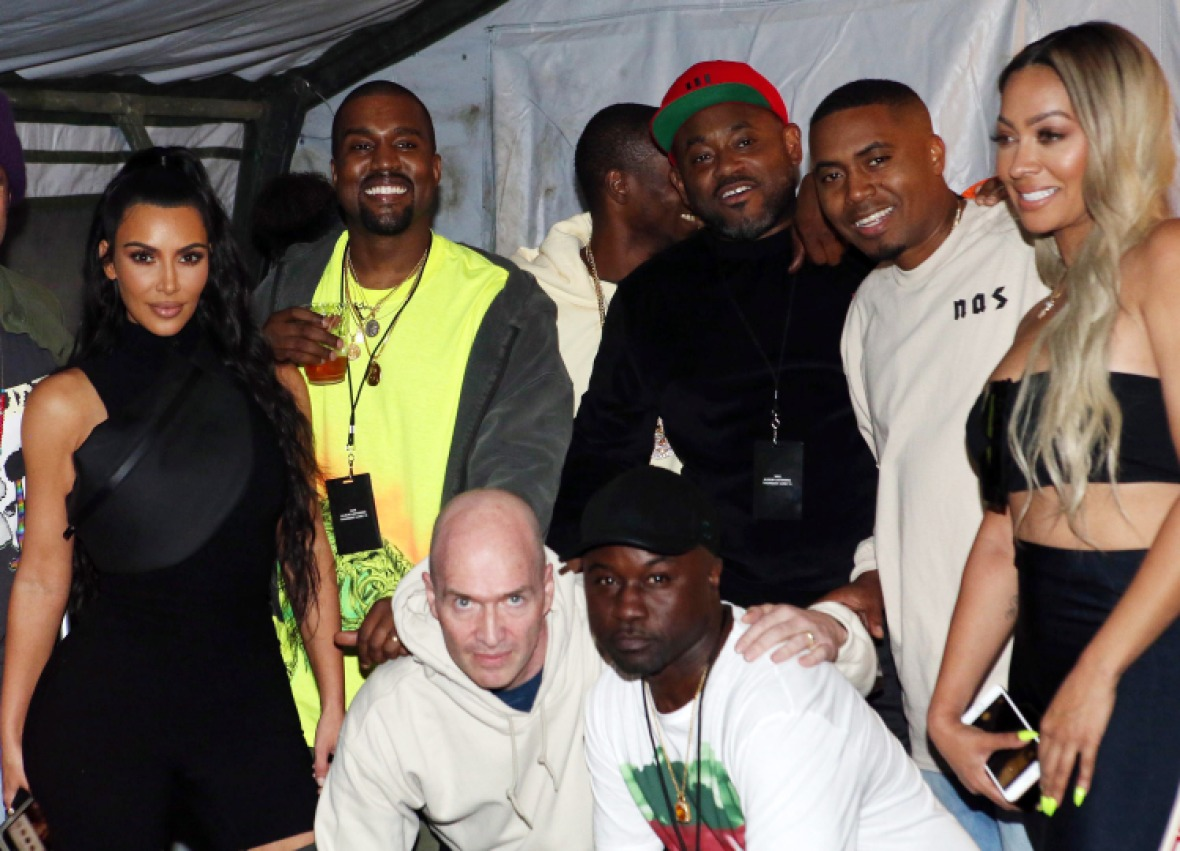 kanye west nas listening party