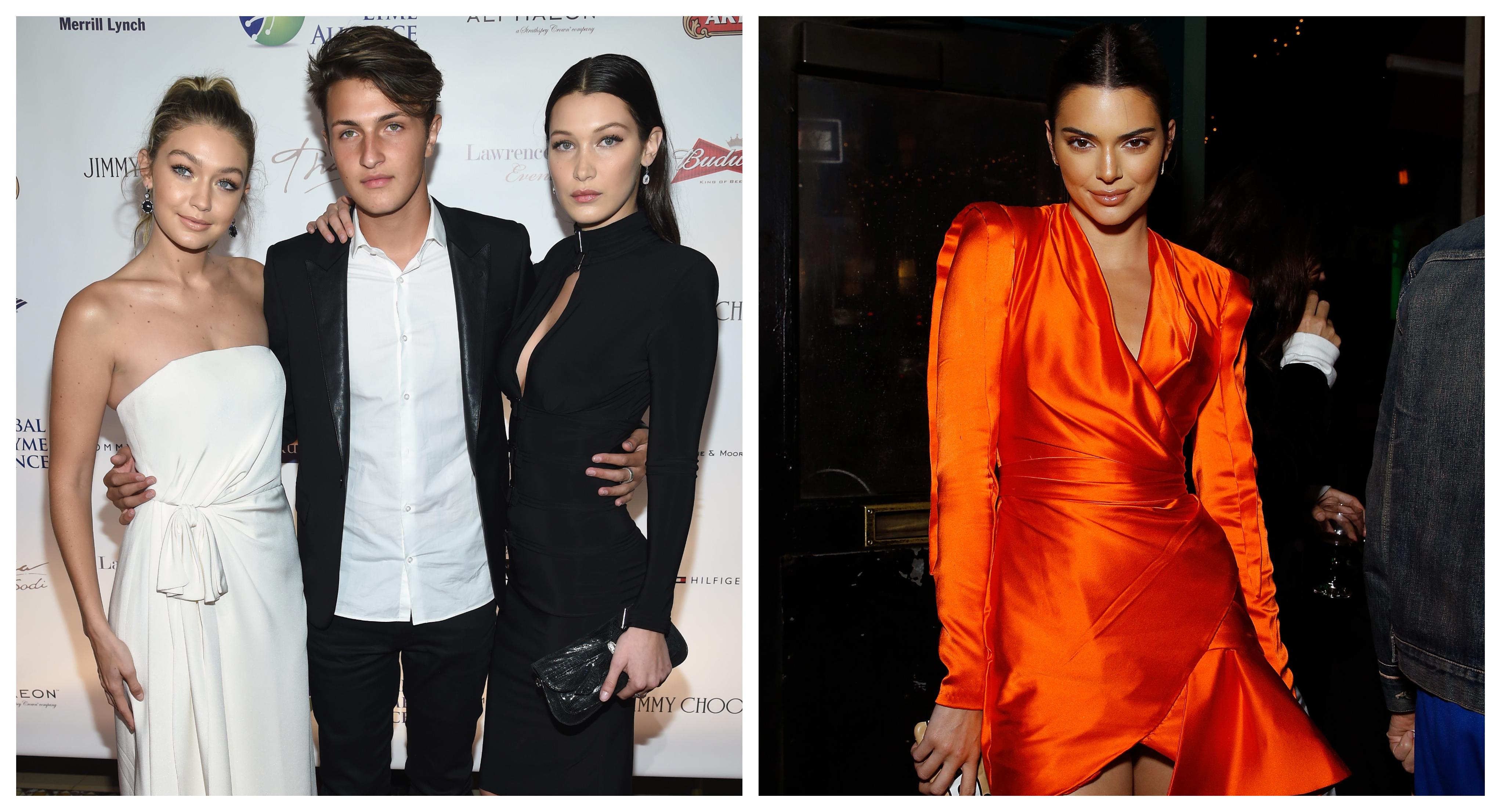 Kendall Jenner And Anwar Hadid S Steamy Kiss Upsets Gigi Hadid And Bella Hadid