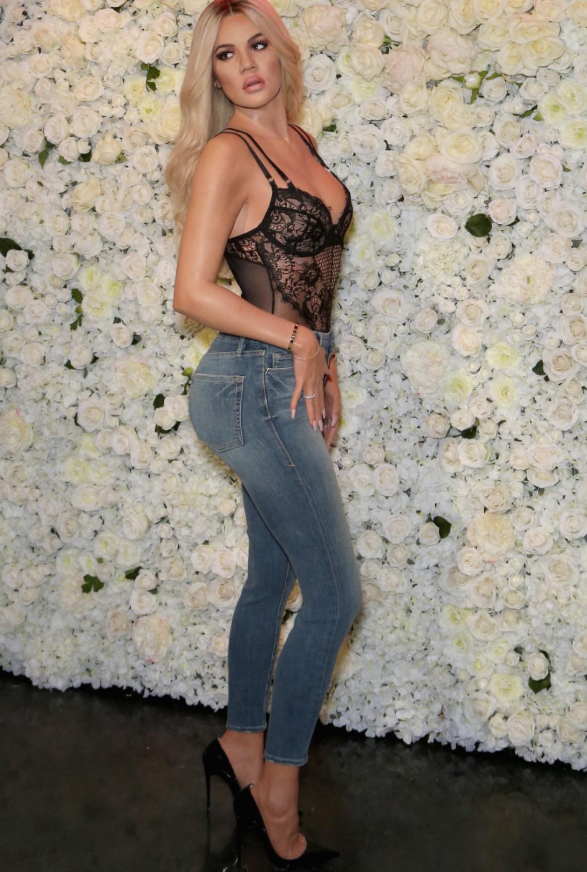 khloe kardashian wax figure