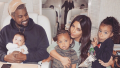Kim Kardashian, Kanye West and their family