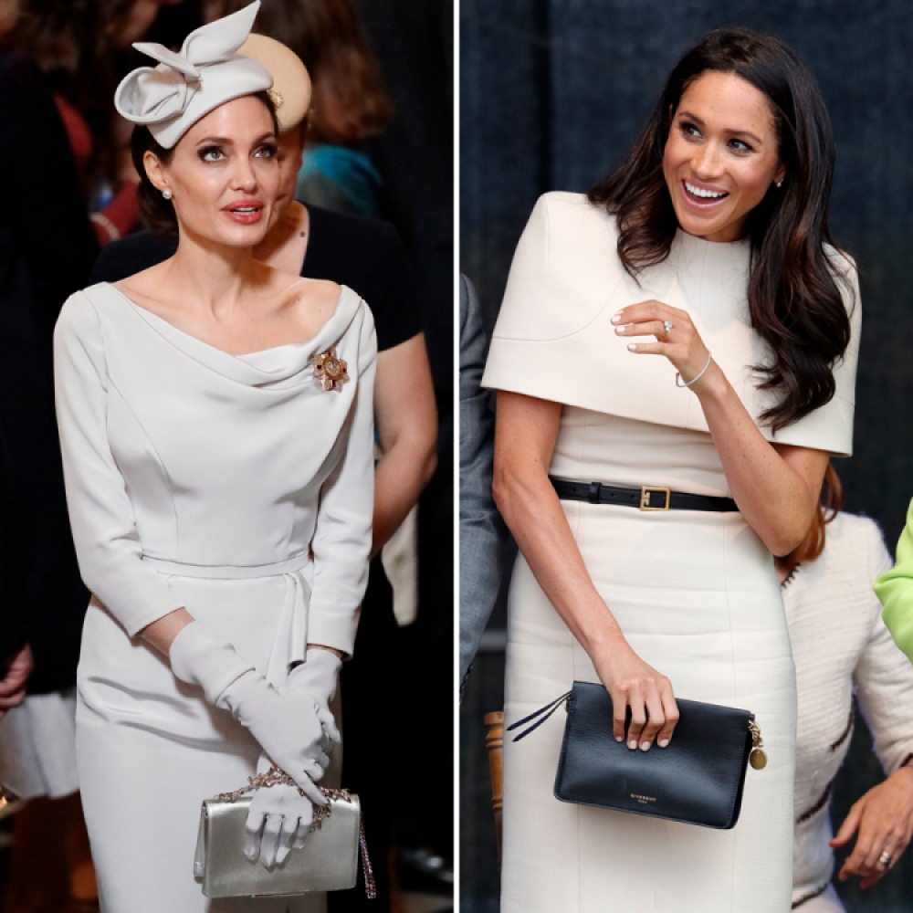 meghan markle and angelina jolie