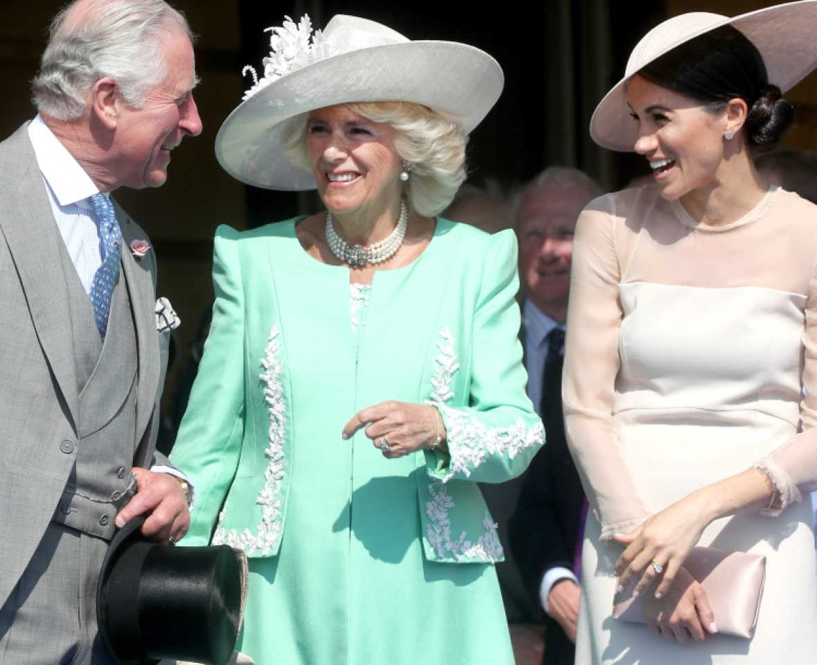 meghan markle prince charles camilla getty images