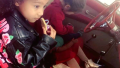 north-west-and-penelope-disick-red-car