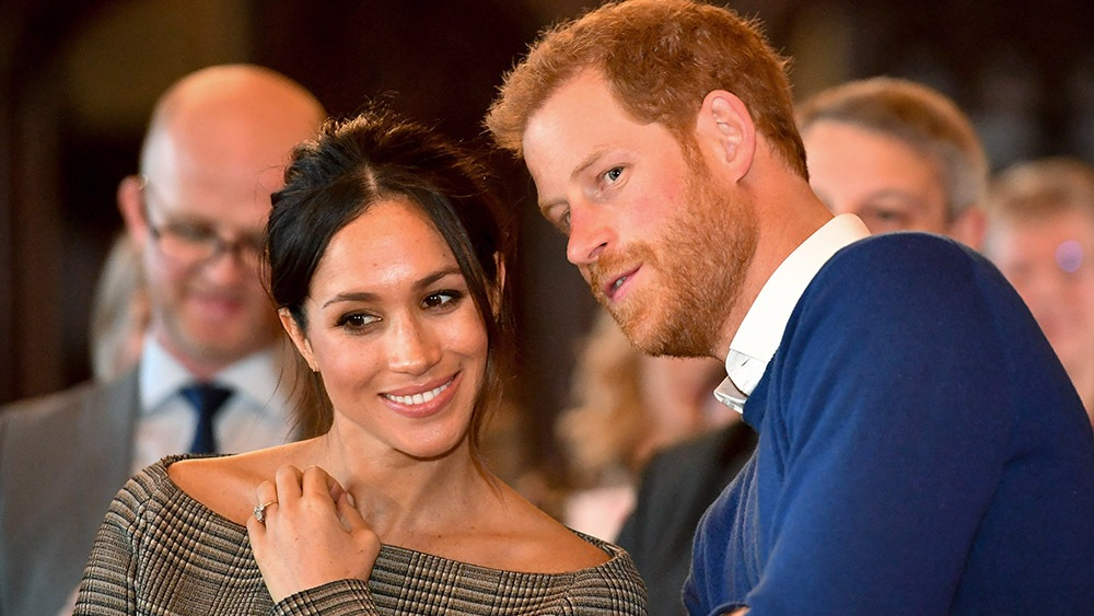 Meghan Markle, Prince Harry, Whispering