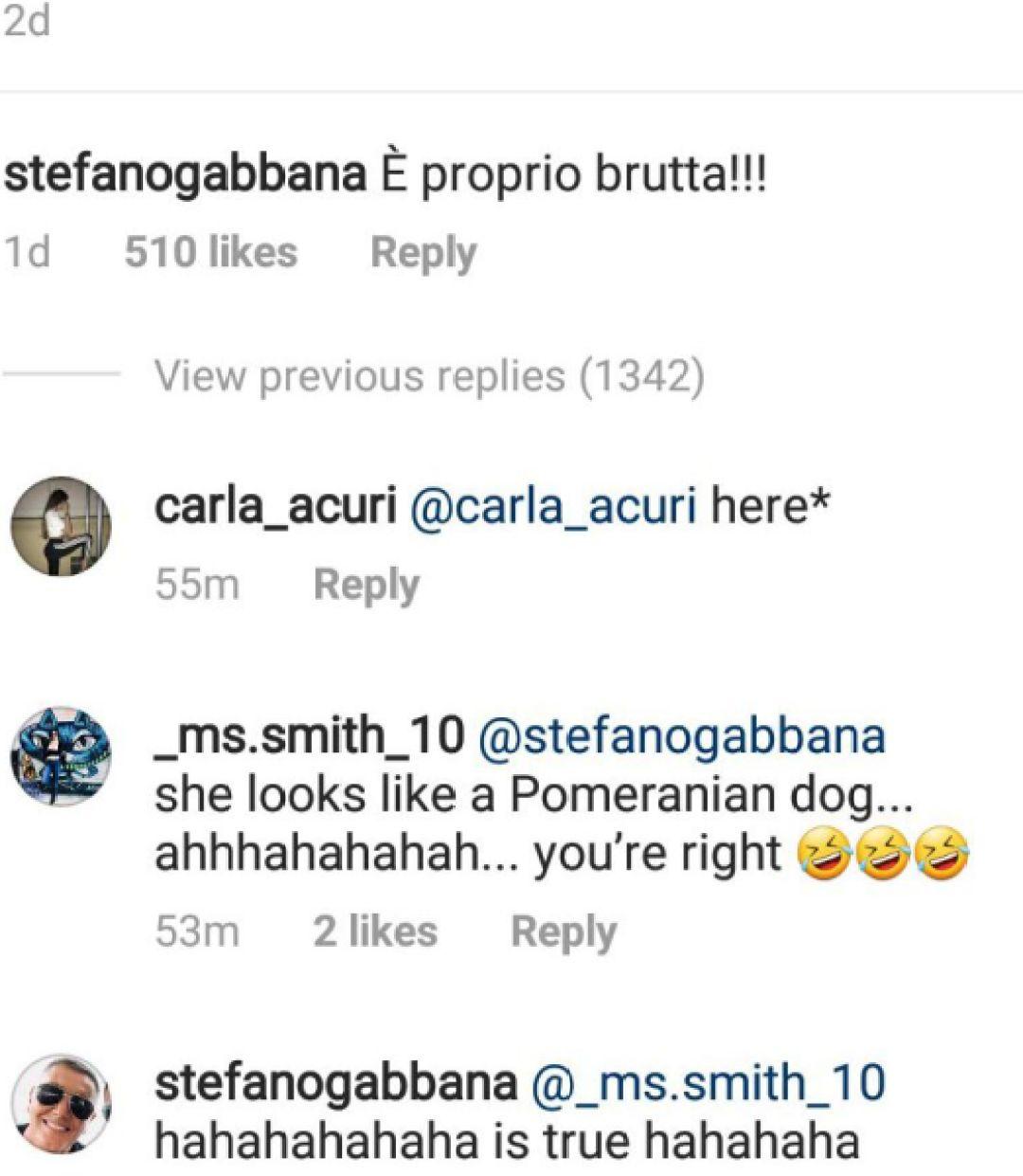selena gomez stefano gabbana instagram