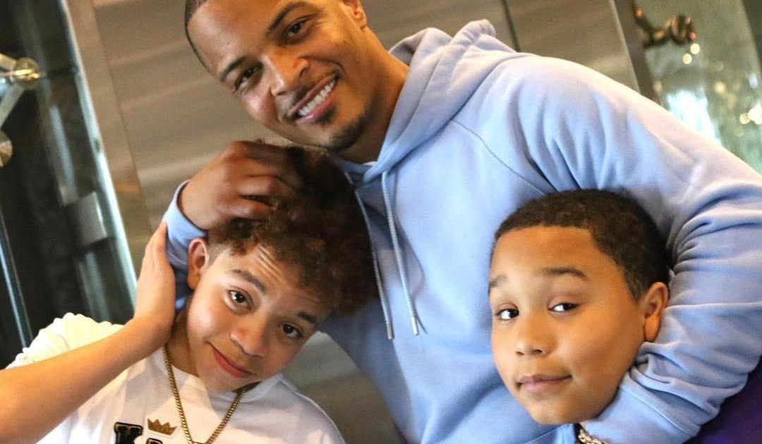 t i and tiny kids details on all eight of the music couple s children