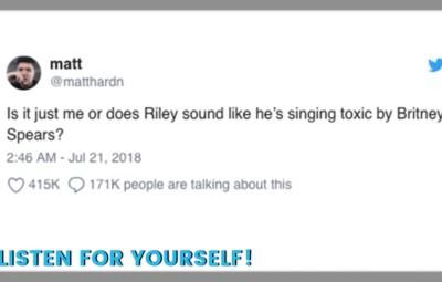 Dog Singing Toxic