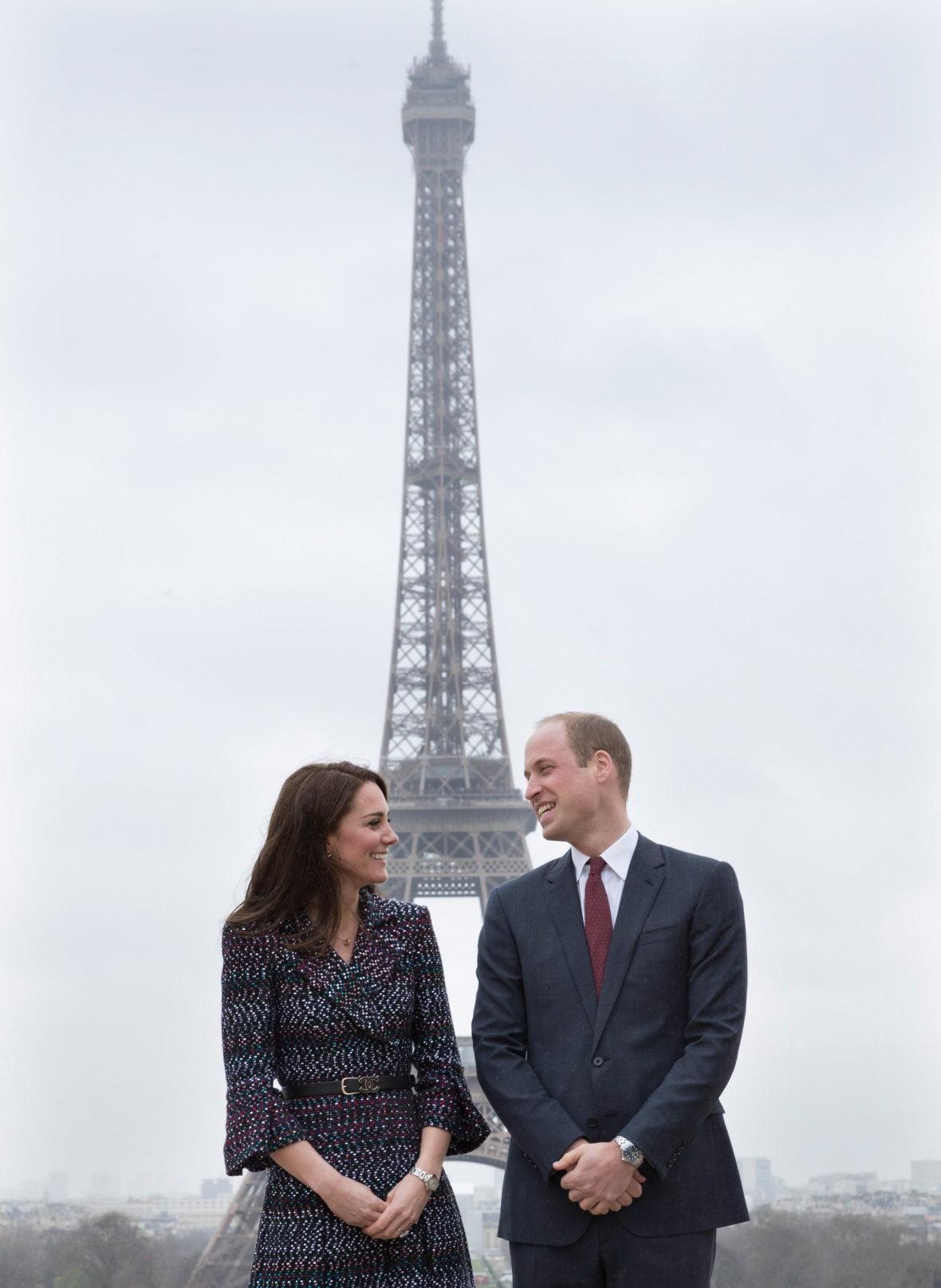 kate middleton prince william paris 2017