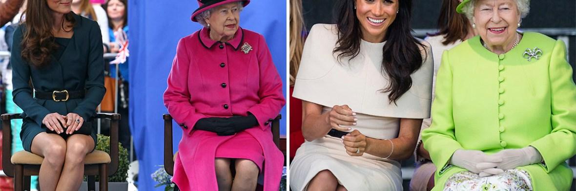 kate middleton meghan markle queen