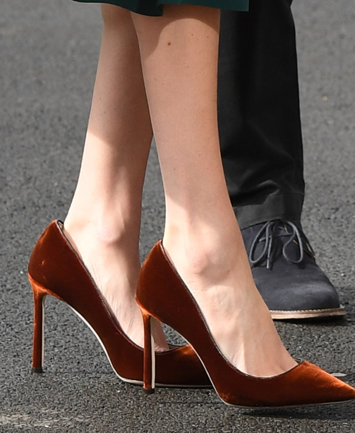 meghan markle shoes getty images