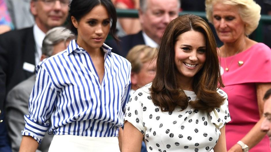 Meghan Markle, Kate Middleton, Tennis Match, Walking