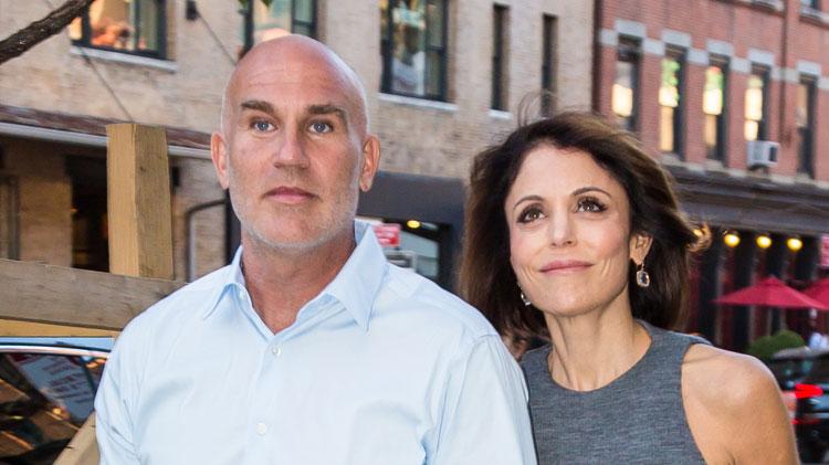 Dennis Shields and Bethenny Frankel
