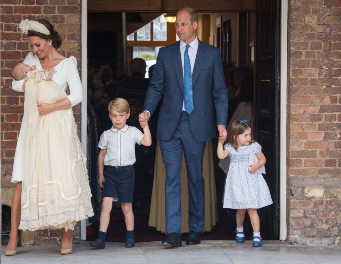 kate middleton prince louis' christening outfit