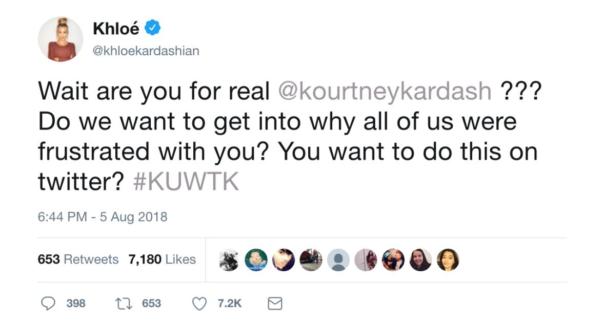 khloé kardashian tweets,