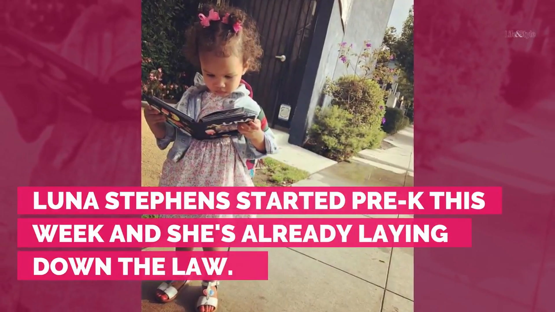 Luna Stephens Lays Down the Law at Pre-K