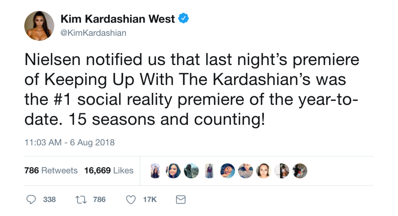 kim kardashian tweets,