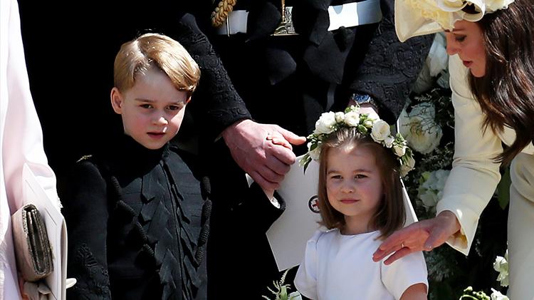 Prince George Princess Charlotte christmas tree tradition