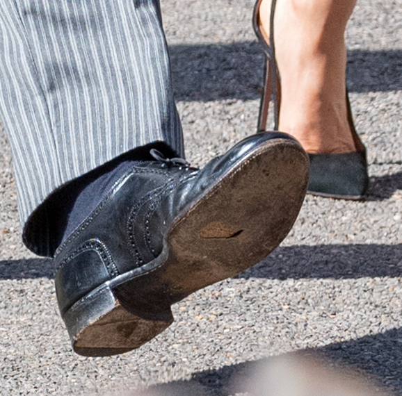 prince harry shoe getty images