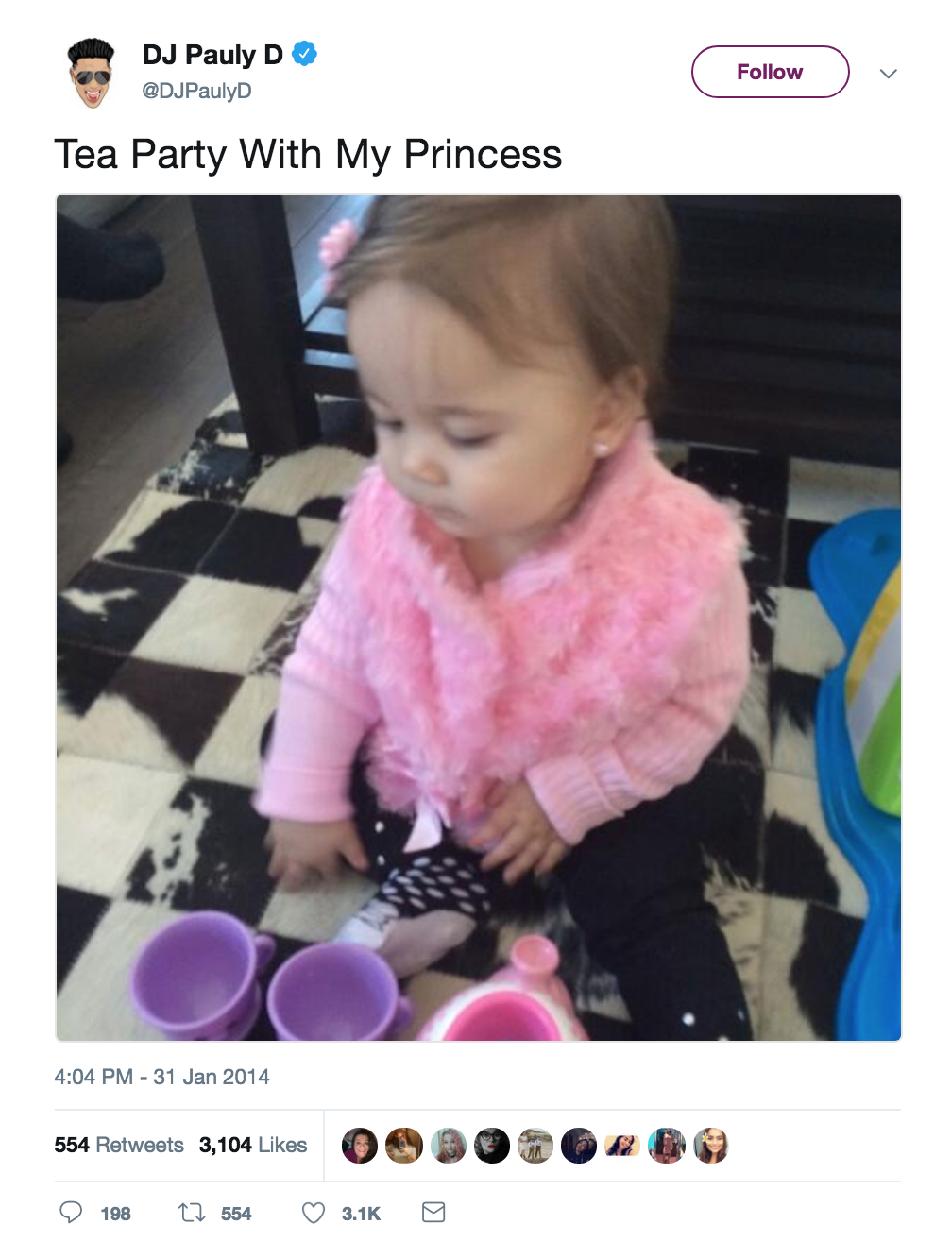 Pauly D Daughter: See What Amabella Sophia Markert Looks