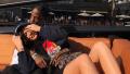 Kylie Jenner, Laying On Travis Scott, Instagram