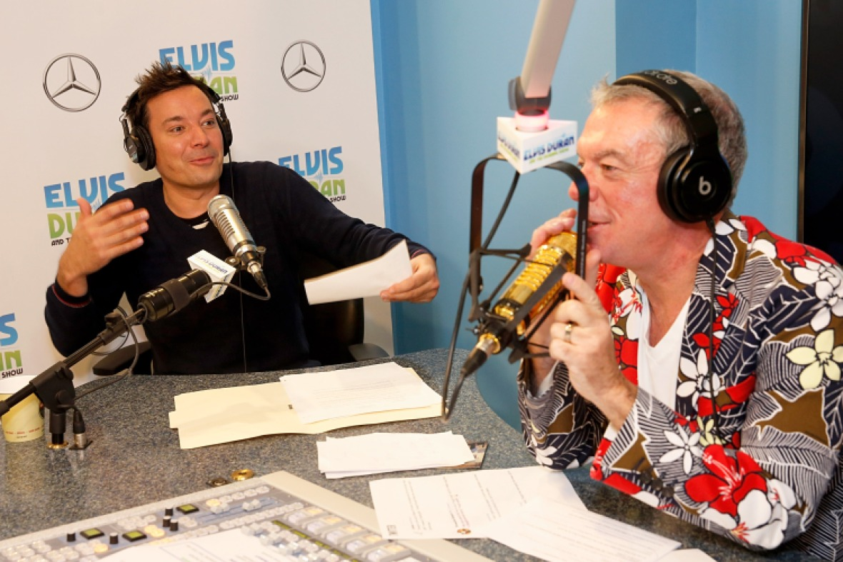 jimmy fallon elvis duran getty images