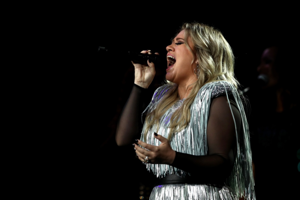 kelly clarkson us open getty images