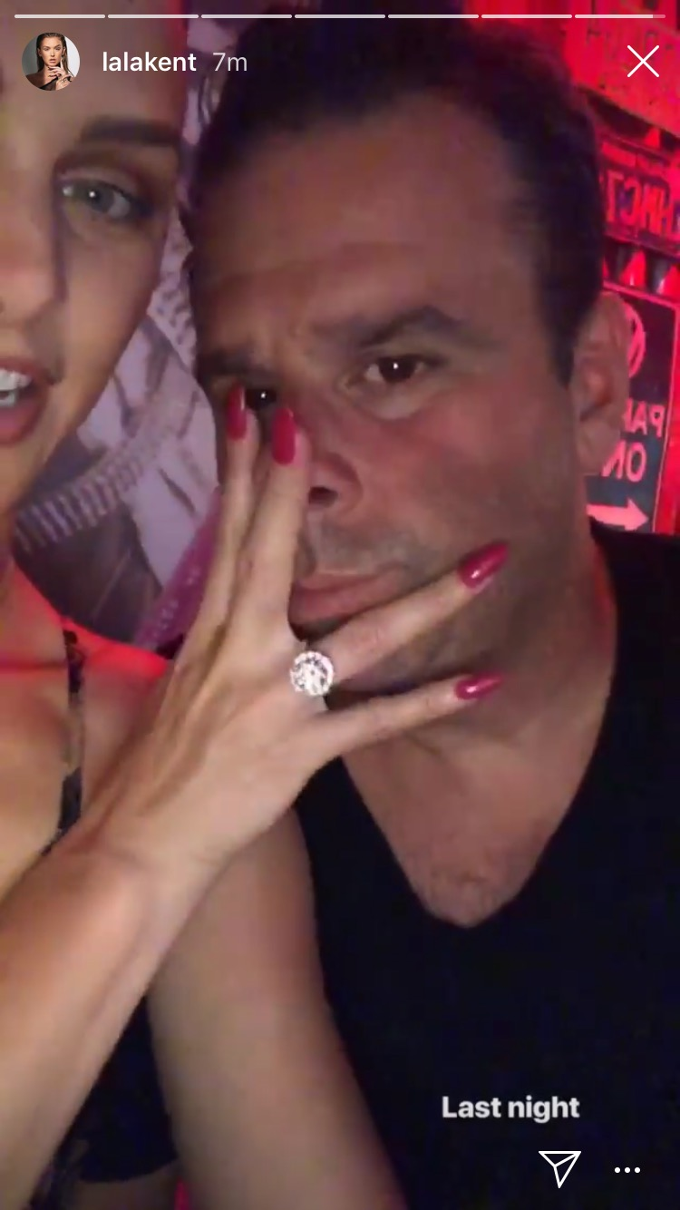 lala kent engagement ring