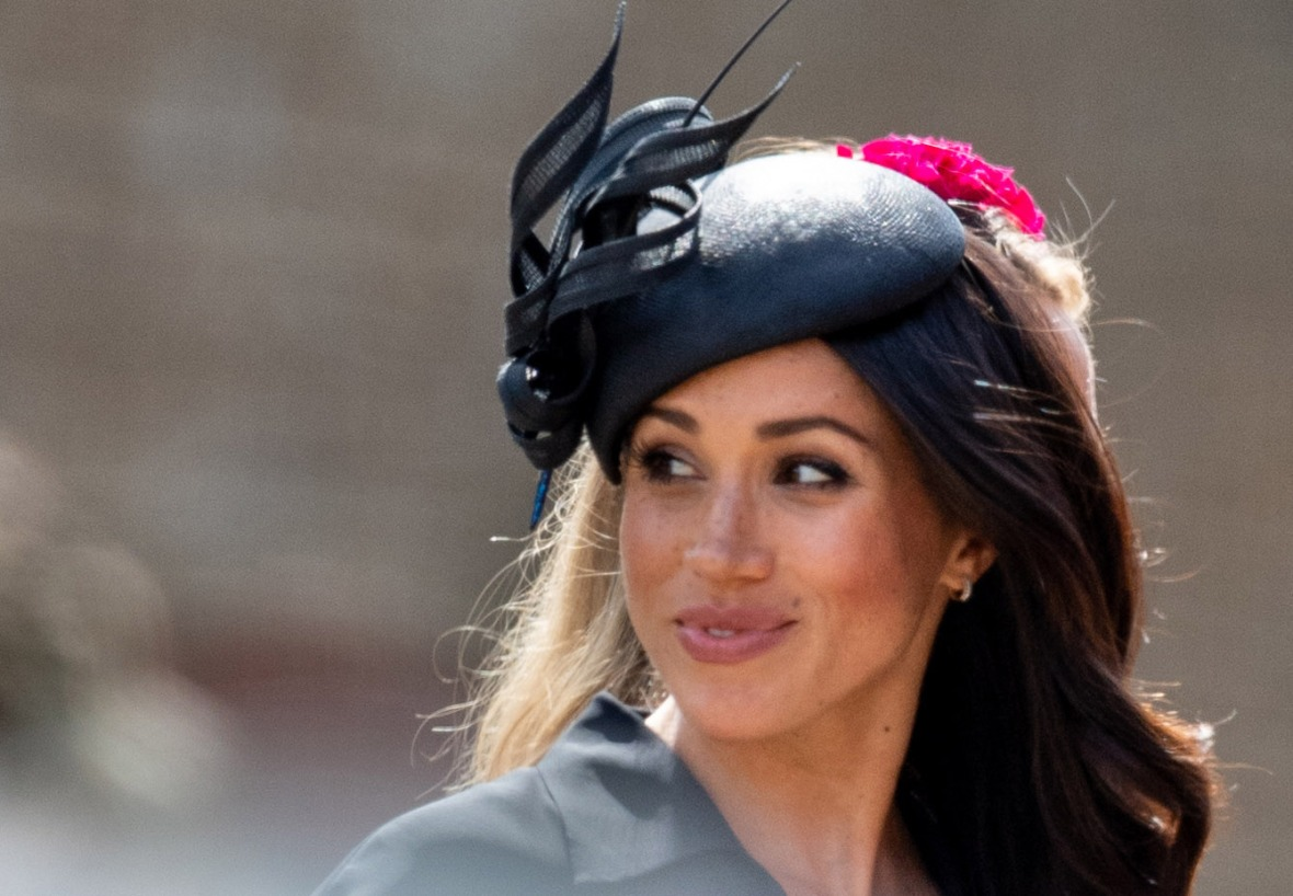 meghan markle blonde hair getty images