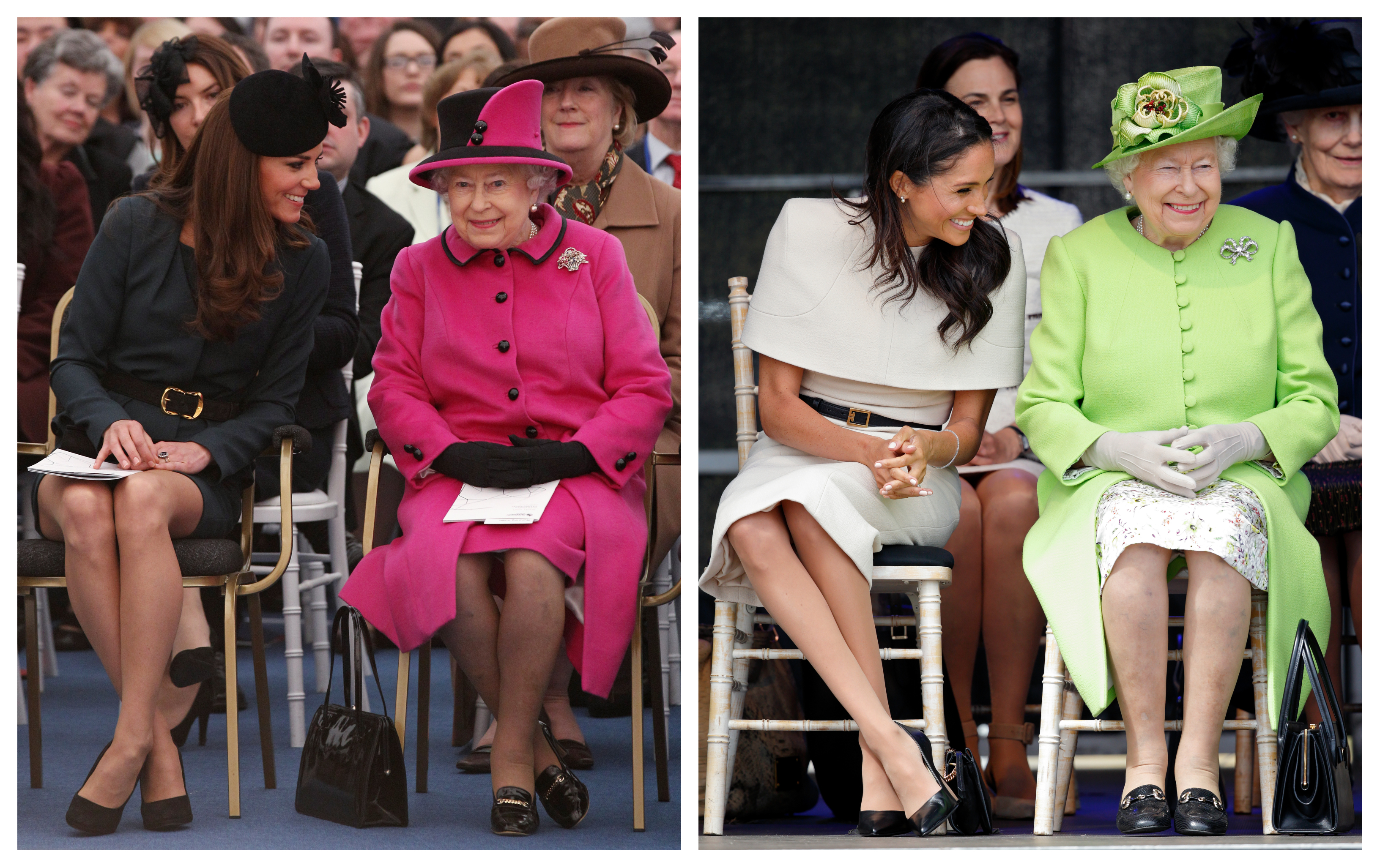 the queen invited meghan markle s mom to christmas but has never invited the middletons why monagiza the queen invited meghan markle s mom