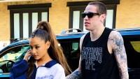 Ariana Grande Pete Davidson promo