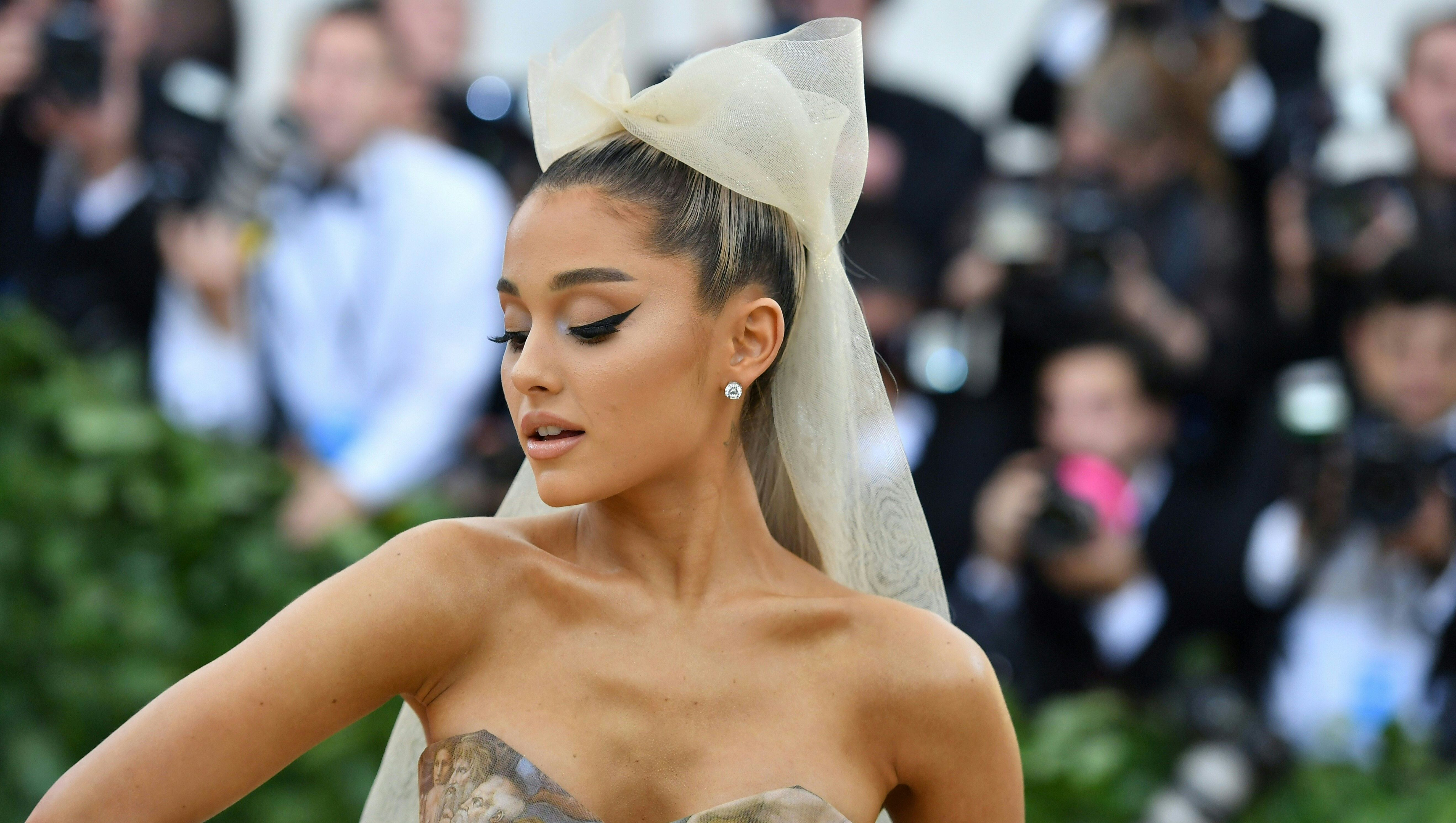 Ariana Grande At Met Gala