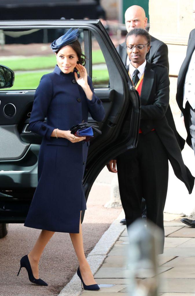 Meghan Markle Princess Eugenie's Wedding