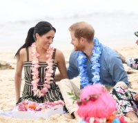 Meghan Markle and Prince Harry in Australia on their royal tour.