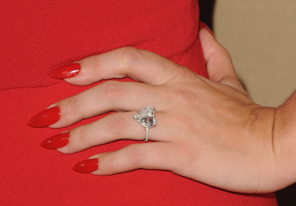 Lady Gaga Engagement Ring Taylor Kinney