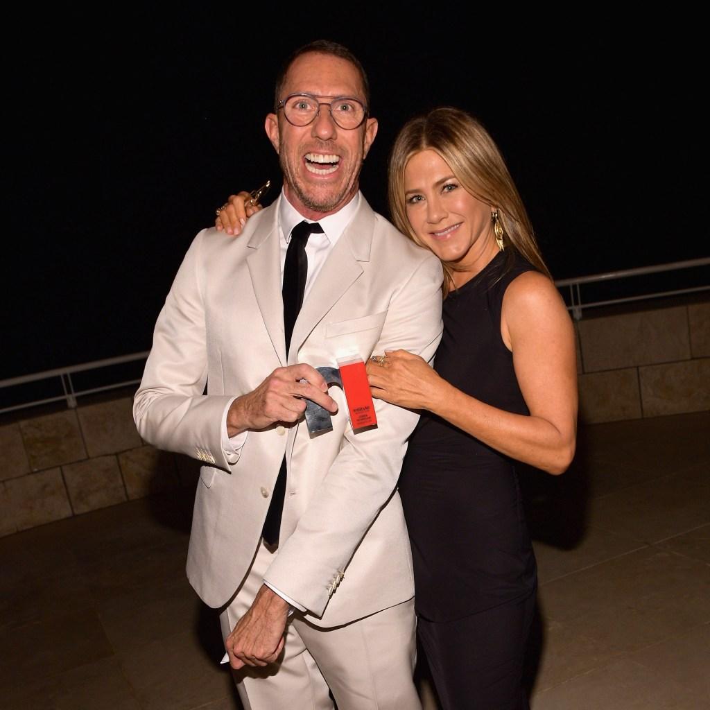 Jennifer Aniston with Chris McMillan