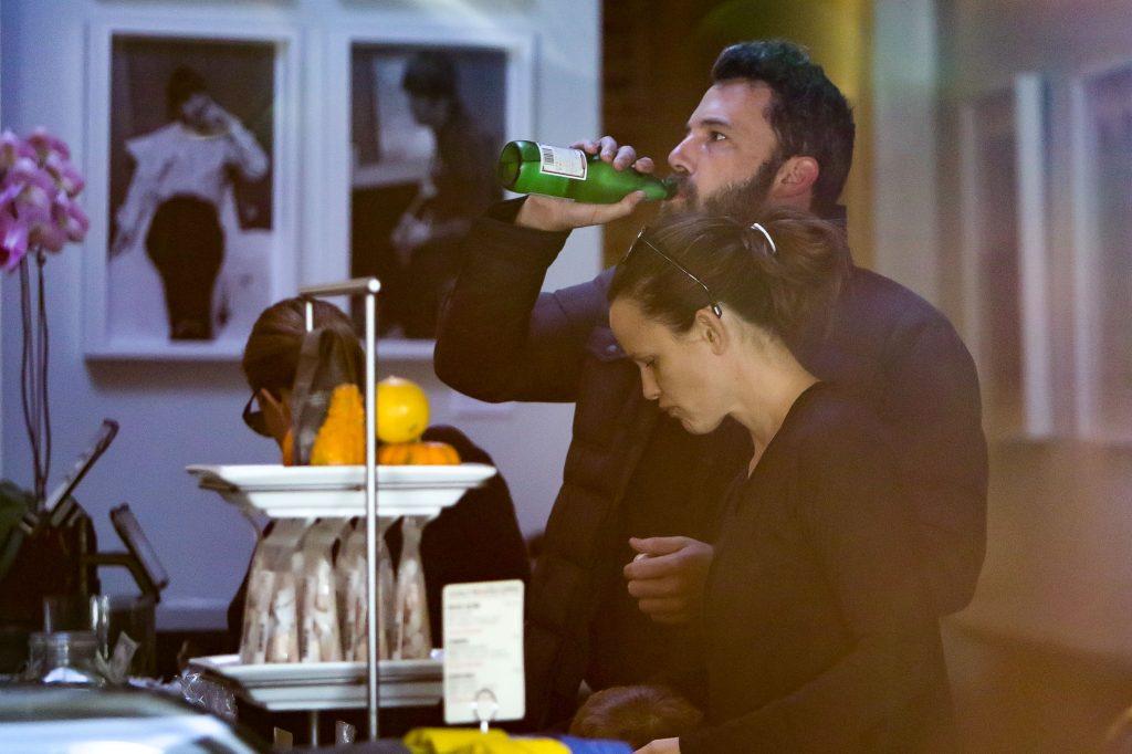 Jennifer Garner and Ben Affleck out in public