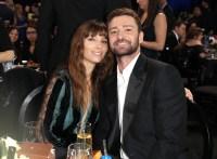 Justin Timberlake and Jessica Birl