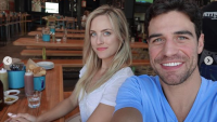 Joe and Kendall taking a selfie